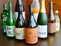 本格焼酎、地酒、ワイン、梅酒各種