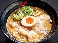 海老ワンタンメン(ごま味噌)