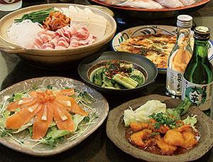 宴会コース「梅」 3,100円(税込)