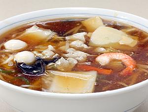 広東麺(醤油)