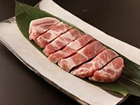 金華豚厚切りステーキ
