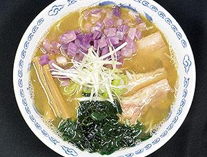海老煮干しらーめん(1日限定10食)