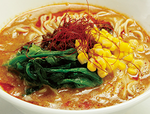 金胡麻焙煎担々麺