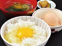 烏骨鶏の卵かけご飯
