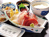 刺身定食(松)