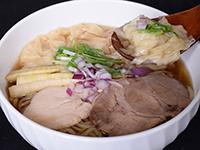 鶏ワンタンメン