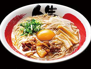 徳島ラーメン+生卵トッピング