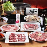 平牧三元豚焼肉コース