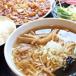 ランチ(マーボー豆腐)