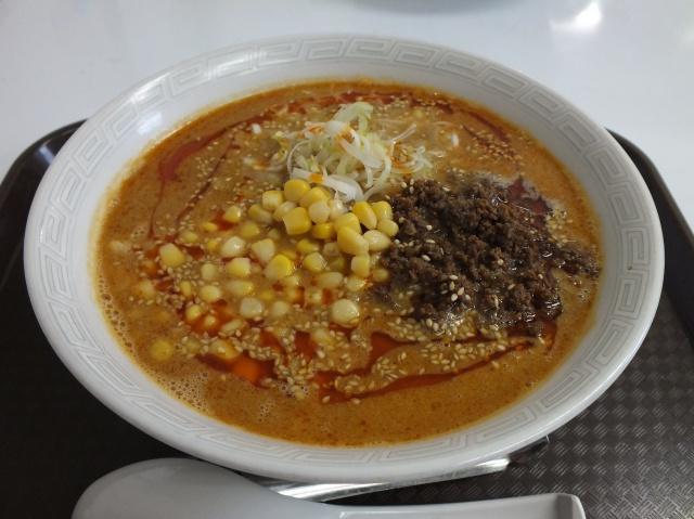 白ごま坦々麺(しょうゆ)