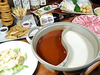 鴛鴦(二色)火鍋飲み放題コース