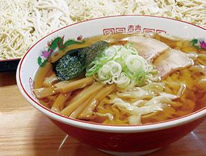 中華そば(細縮れ麺)