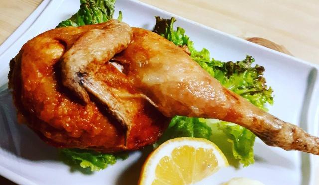 国産若鶏の半身揚げ