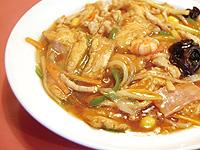 揚豆腐の辛子煮