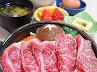 和牛すき焼き定食