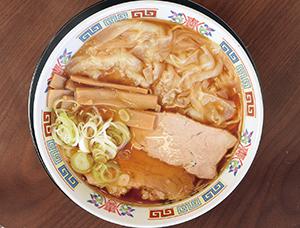 ワンタン麺 中